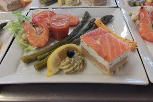 entremet saumon viaule traiteur tarn